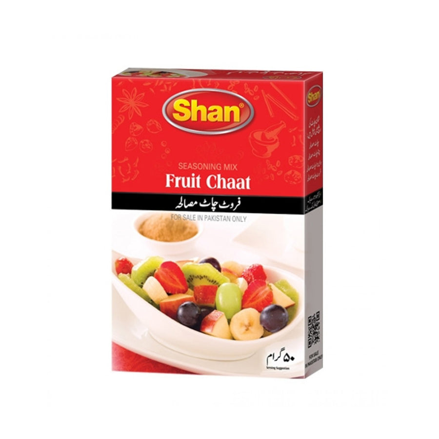 SHAN FRUIT CHAAT MASALA 50 GMS
