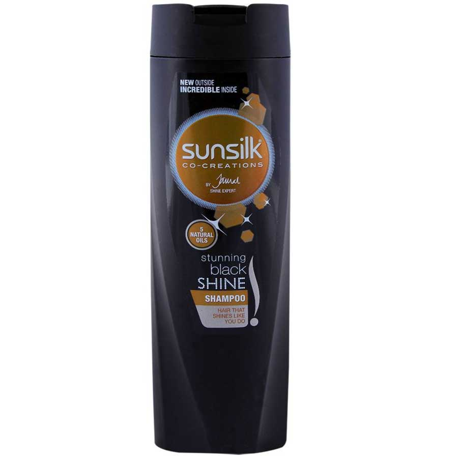 SUNSILK STUNNING BLACK SHINE SHAMPOO 400 ML