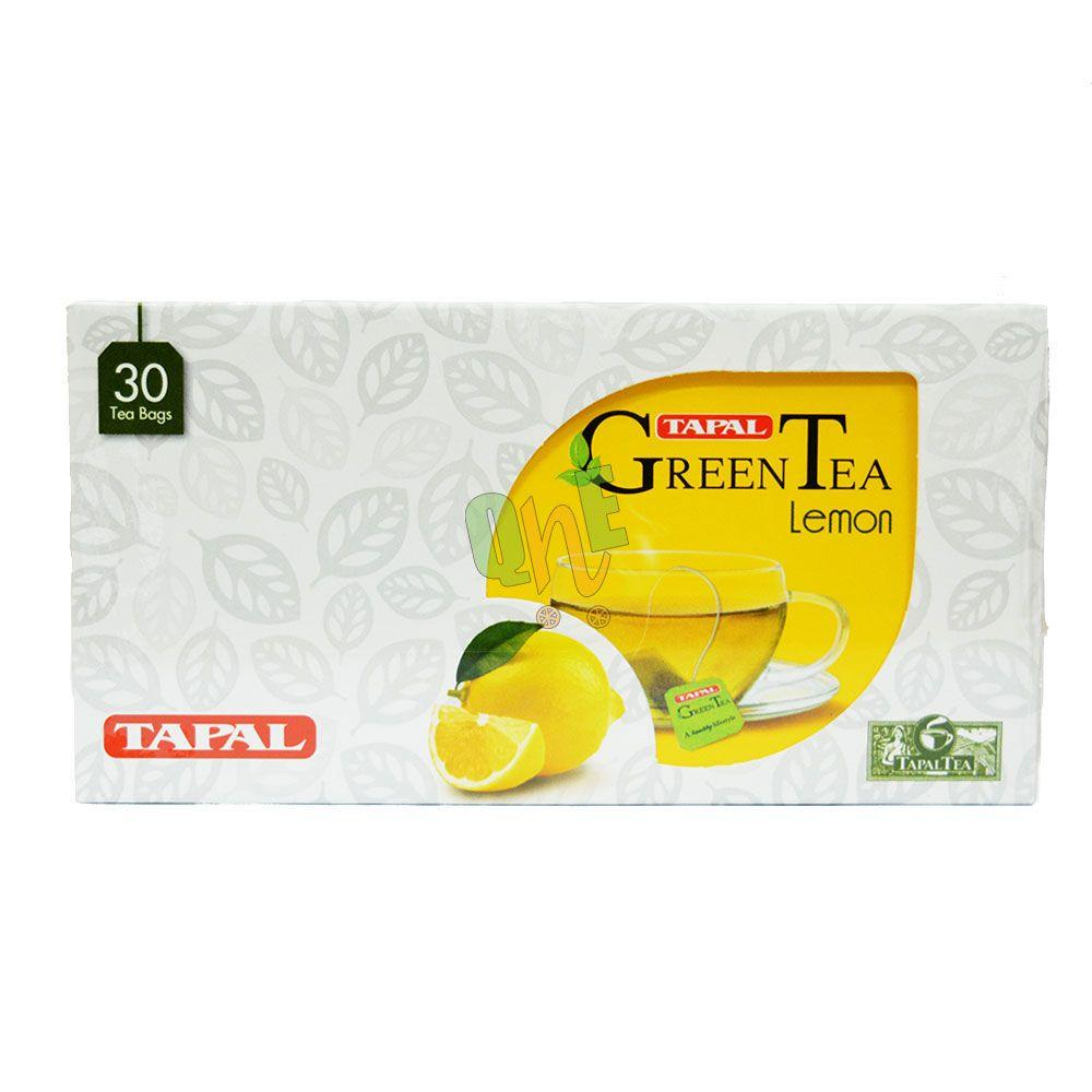 TAPAL GREEN TEA BAG LEMON 30PCE