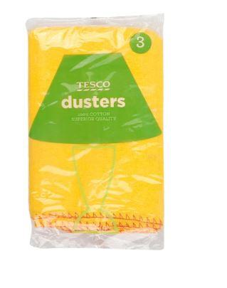 TESCO DUSTERS SUPERIOR QUALITY