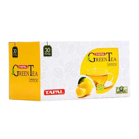 TAPAL LEMON GREEN TEA BAGS 45 GMS