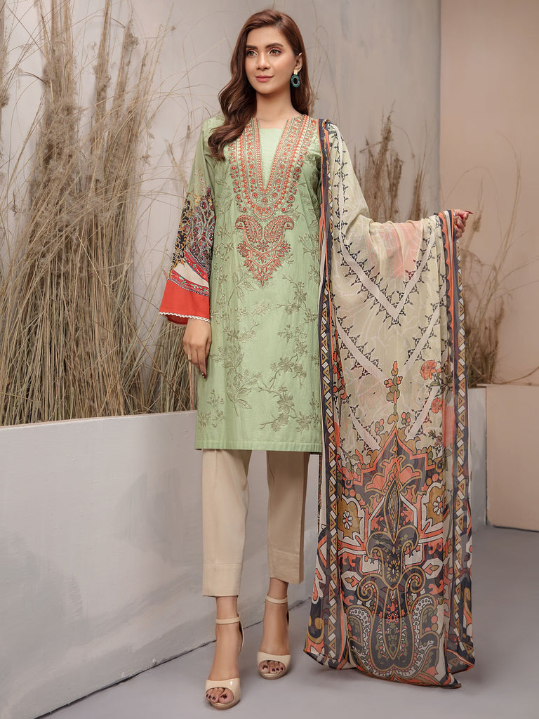 LIMELIGHT EMBROIDERED LAWN EID EDITION'21