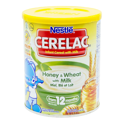 NESTLE CERELAC HONEY WITH WHEAT MILK TIN 400 GM