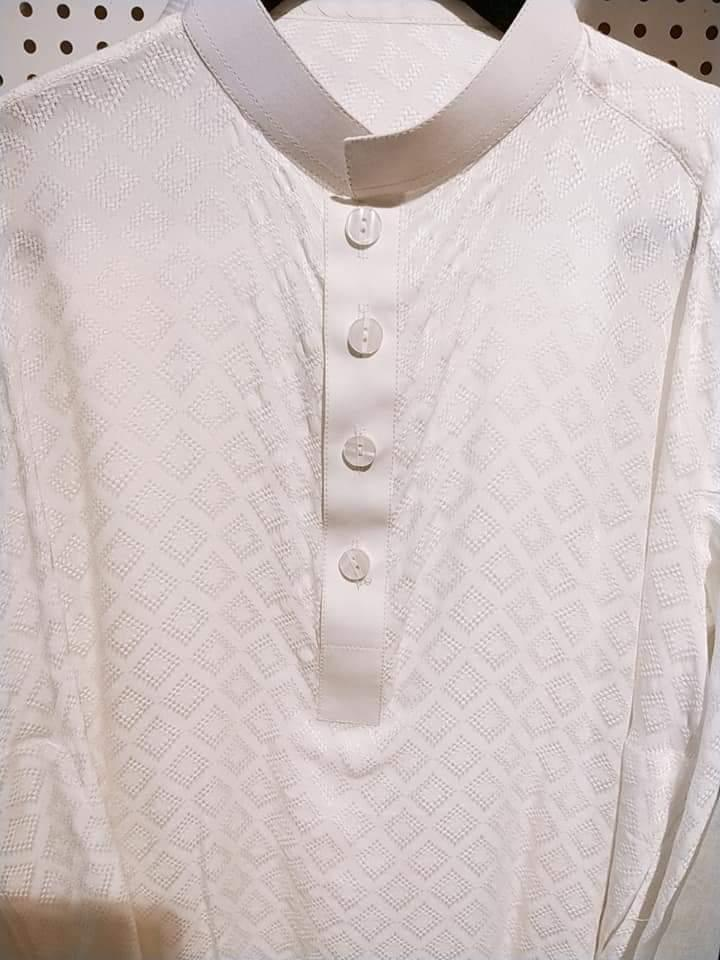 White Kurta Shalwar | IEZ Kids Collection