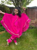 Hot Pink Kaftan | IEZ Kids Collection