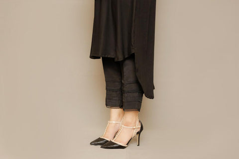 BLACK SILK PANTS | WINTERNALIA | RJ'S PRET