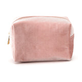 Velvet Beauty Bag -Pink | Funky Fish