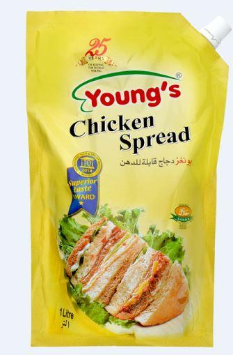 YOUNGS CHICKEN SPREAD 1KG