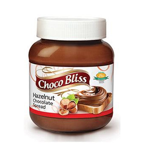 YOUNG'S CHOCO BLISS HAZELNUT SPREAD WITH COCOA BOTTLE 350 GMS