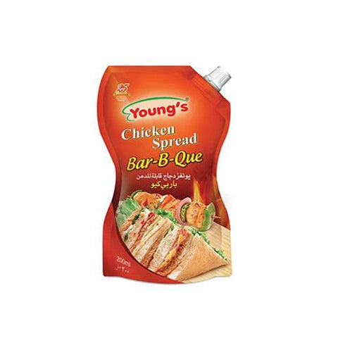 YOUNG'S CHICKEN SPREAD BAR-B-QUE POUCH 500 ML