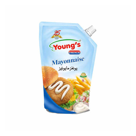 YOUNG'S FRENCH MAYONNAISE POUCH 1 LITRE