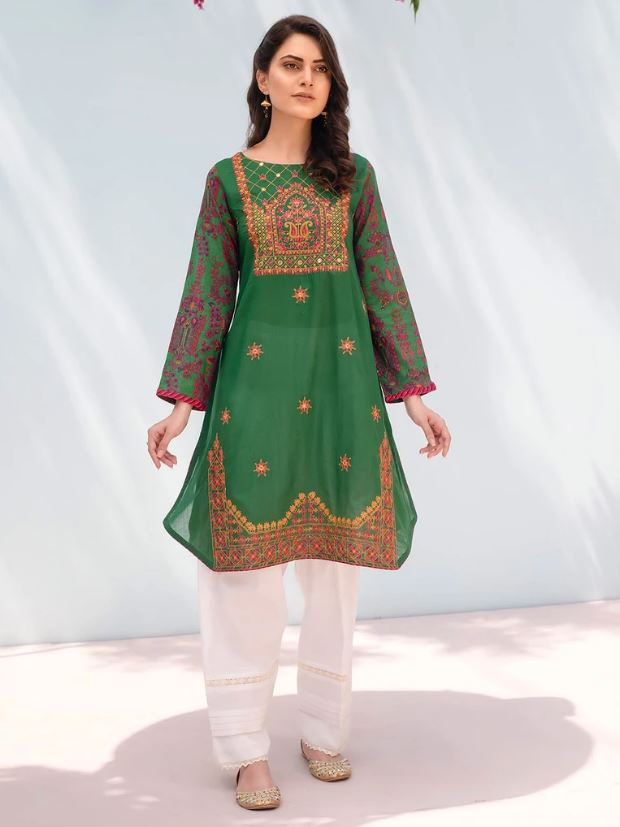 Rajbari Ready To Wear Jaune Green Product Code: PR-210-XS