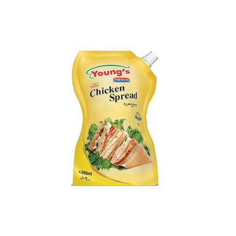 YOUNG'S CHICKEN SPREAD POUCH 200 ML