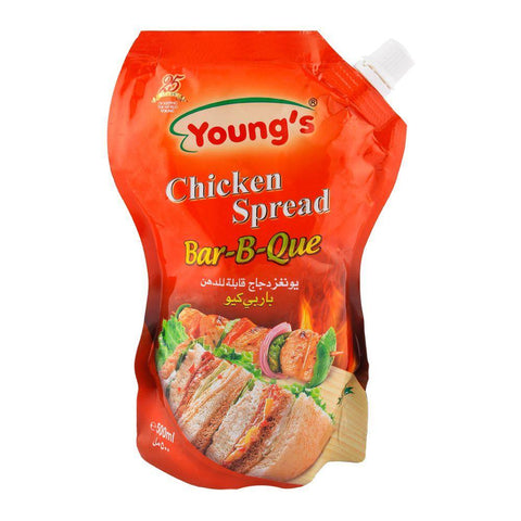 Youngs Chicken Spread BBQ 500ml