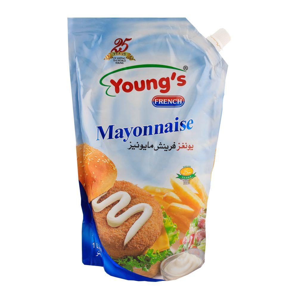 Youngs French Mayonnaise 1kg