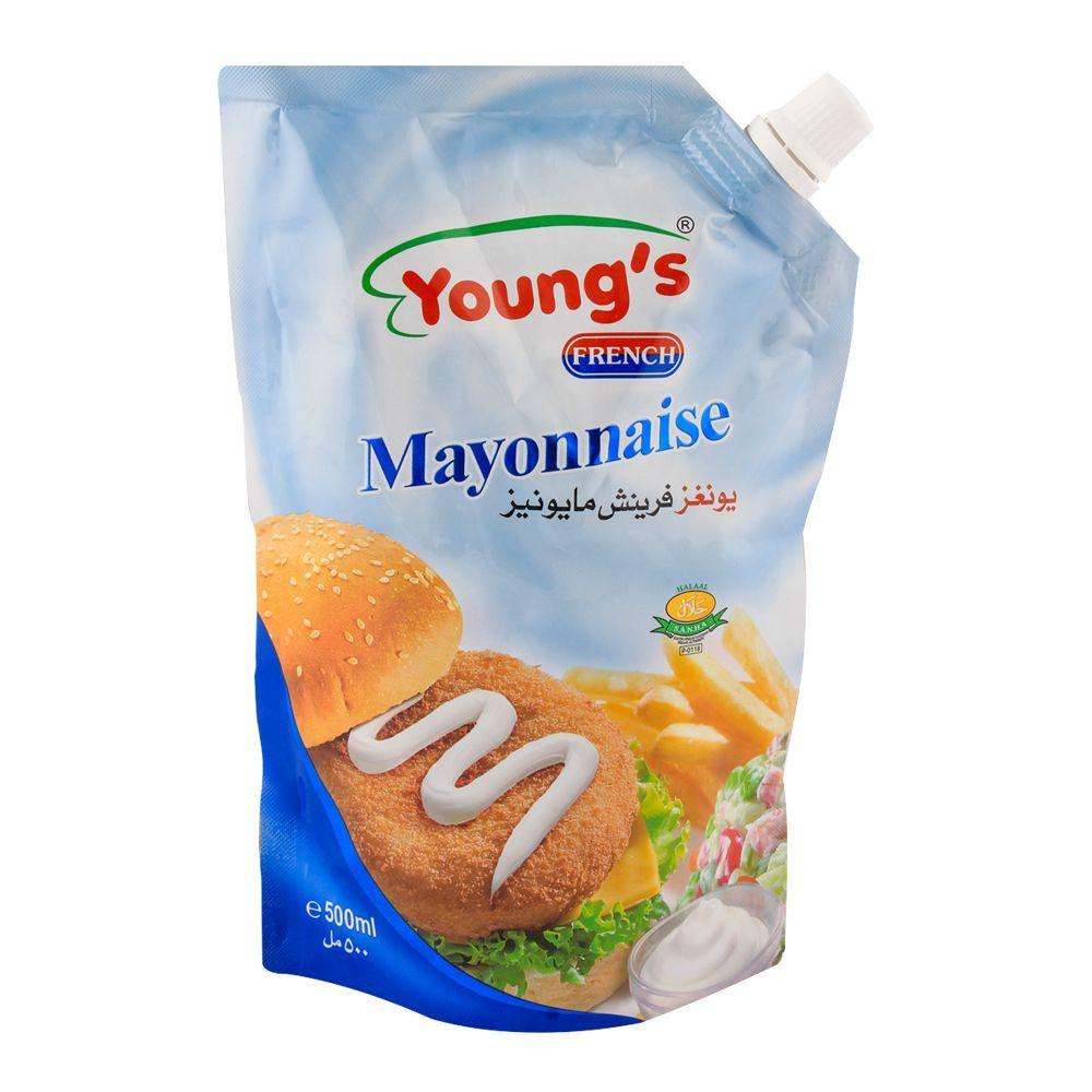 Youngs French Mayonnaise 500gm