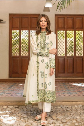 Zaha By Khatija Shah City by the Sea Lawn Collection'21 ROWSHAN (ZL21-15 B)