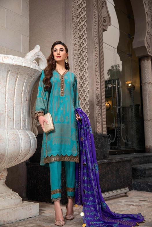 Charizma An Evening Affair Fall Collection'20 Cerulean CLJW 05