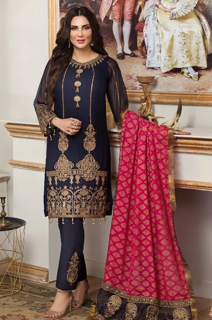 Mohagni by Mehrma Chiffon Collection'20 MGO-06