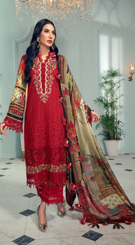 Anaya By Kiran Chahudhary Lamour de Vie Luxury Lawn Collection'21