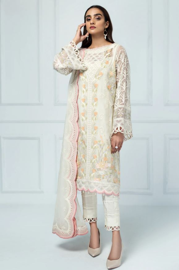 Jazmin Embroidered Chiffon Luxury Formal Edition'20 Ciel