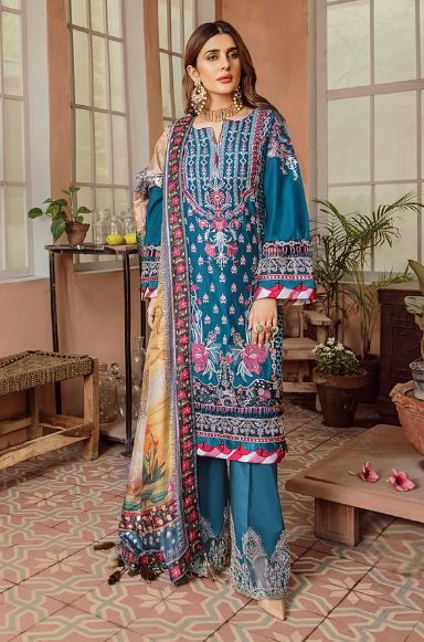 Maryam Hussain Festive Lawn Collection'20 Sehr