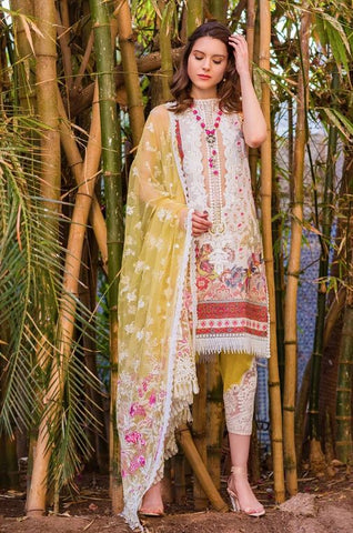 Sobia Nazir Luxury Lawn Collection'20 L20-15B
