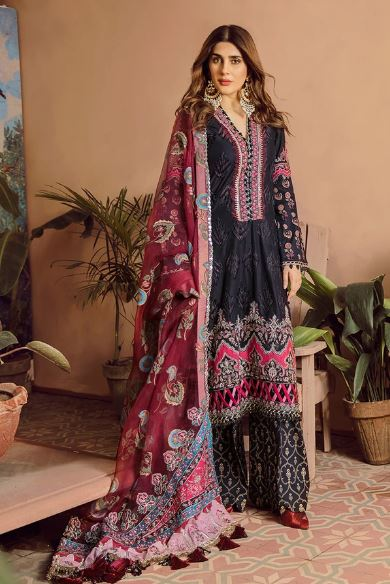 Maryam Hussain Festive Lawn Collection'20 Midnight