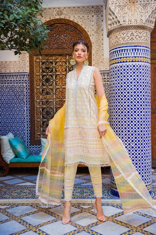 Sobia Nazir Luxury Lawn Collection'20 L20-12A