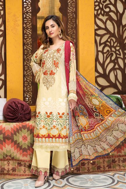 Mohagni Florence Embroidered Collection'20 SLE-20-03