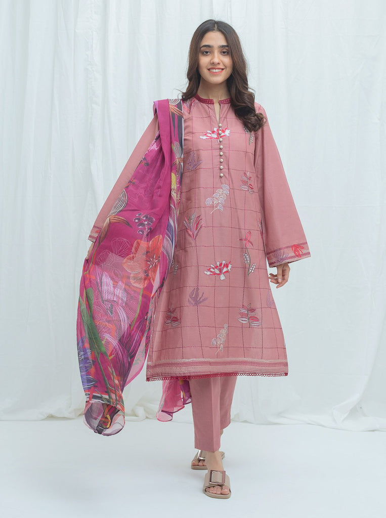 BeechTree Spring Summer Lawn Collection'21 VOL-02 Opal Blush-Embroidered-2P