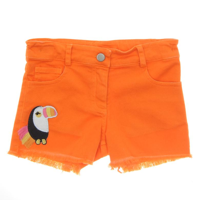 Orange Girl Shorts | Peacocks | Panco
