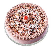 MOUSSE CAKE CARAMEL CRUNCH MOUSSE 3 POUND