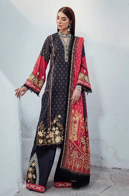 Rang Rasiya Florence Linen Collection'20 KURNAK RR-FLRL-W20-D-627