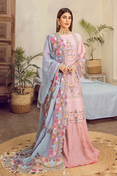 Maryam Hussain Festive Lawn Collection'20 Dimpl
