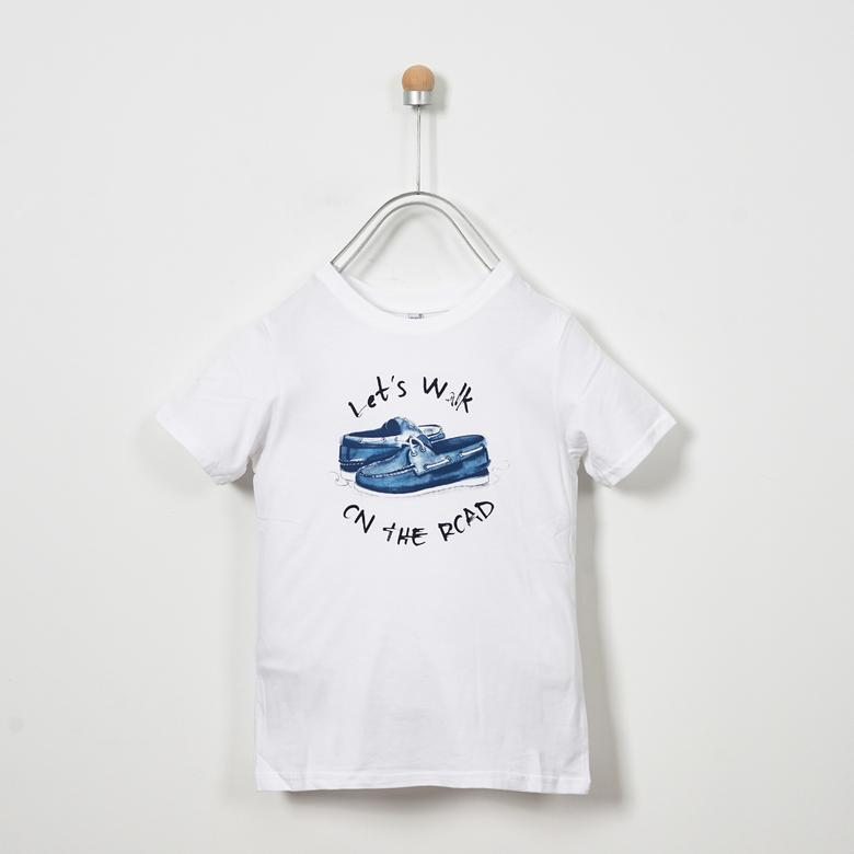White Boy T-Shirt | Soft Blue | Panco