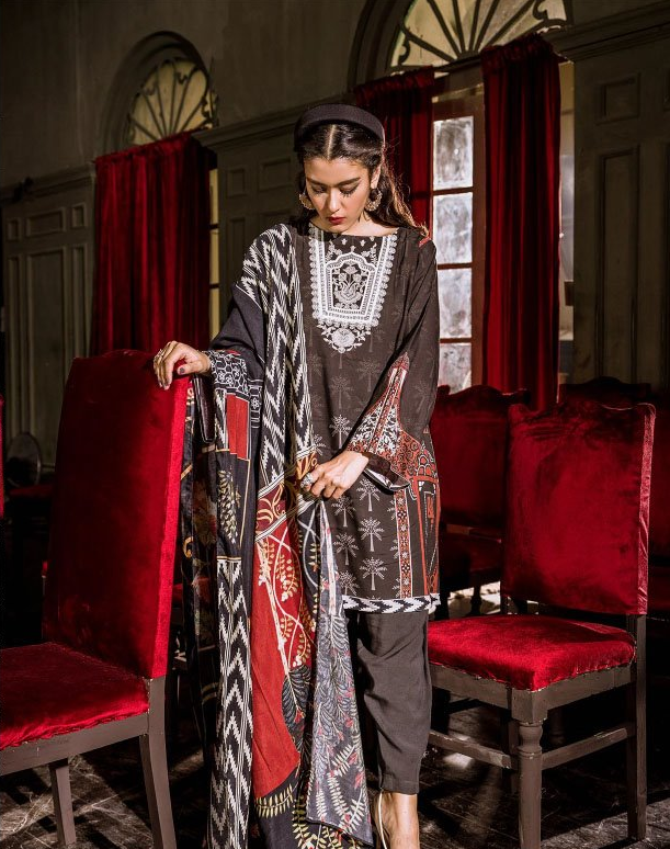 Cross Stitch SUNSET BOULEVARD-KHADDAR & LINEN '19 TIMBER ORNATE
