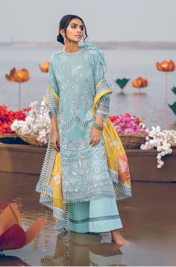 Iznik Summer Luxury Lawn Collection'21
