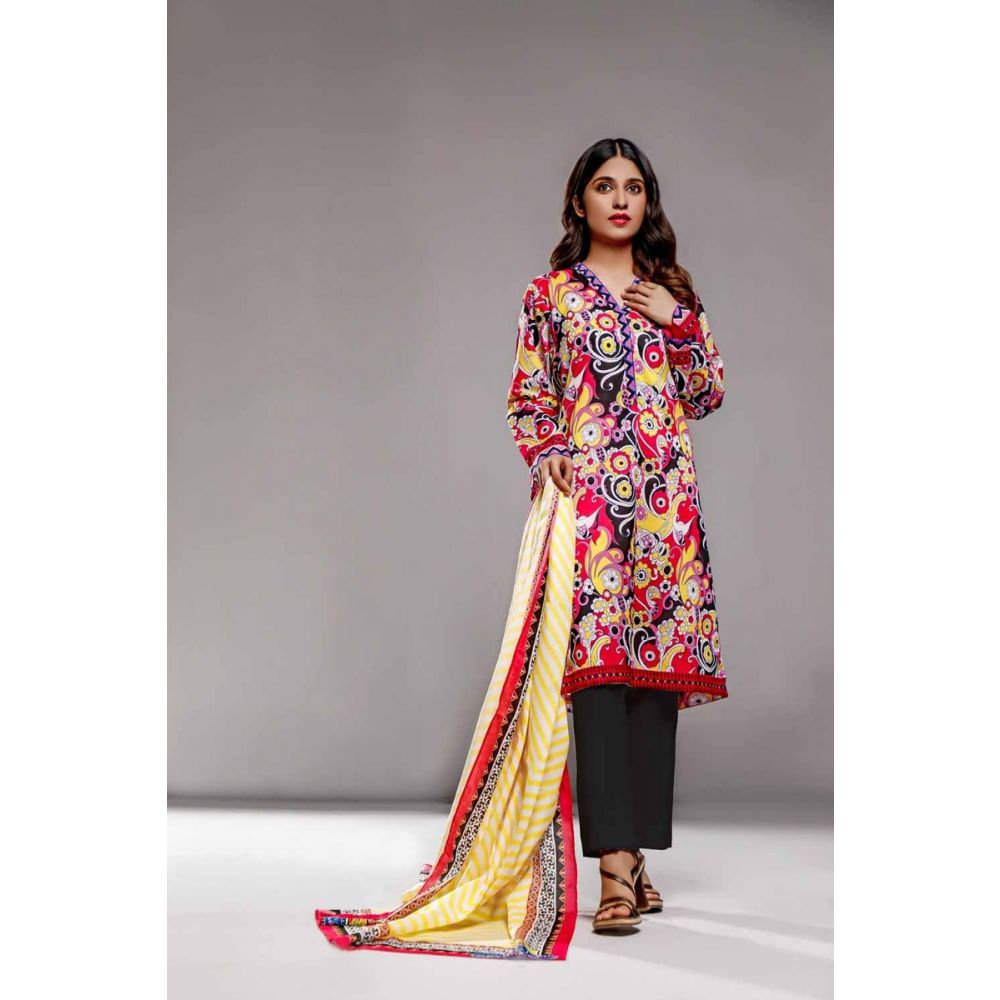 Gul Ahmed Special Edition 3PC Printed Lawn Suit CL-865