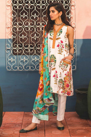Zara Shahjahan Lawn Collection'19 SKU : JEHAN-B
