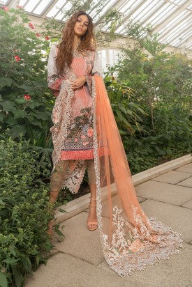 Sobia Nazir Luxury Lawn Collection'19 PRODUCT CODE: L19-5A
