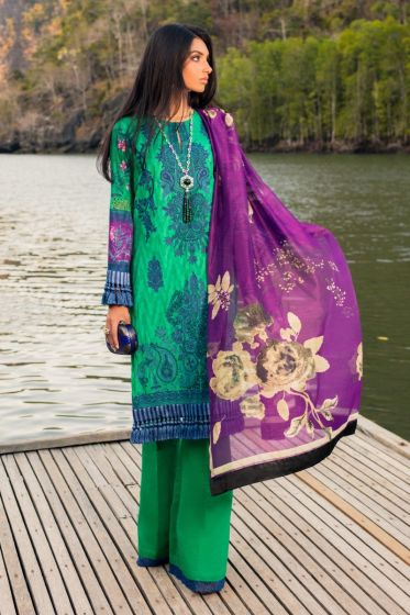 Sana Safinaz Luxury Lawn Collection'2020 SKU L201-013A-AR