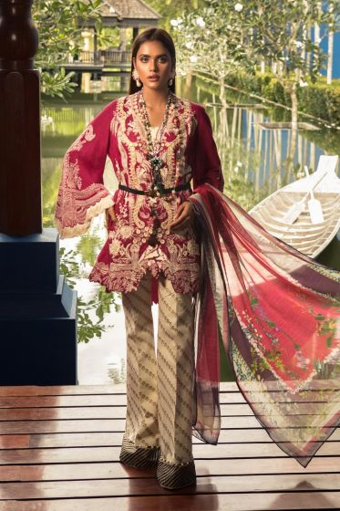 Sana Safinaz Luxury Lawn Collection'2020 SKU L201-016A-AR