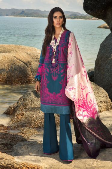 Sana Safinaz Luxury Lawn Collection'2020 SKU L201-004B-AL
