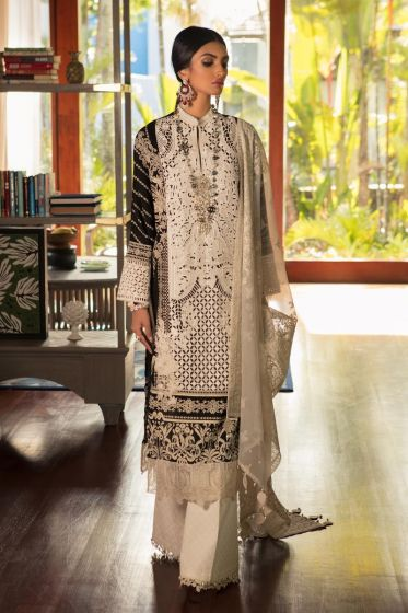 Sana Safinaz Luxury Lawn Collection'2020 SKU L201-005A-CI