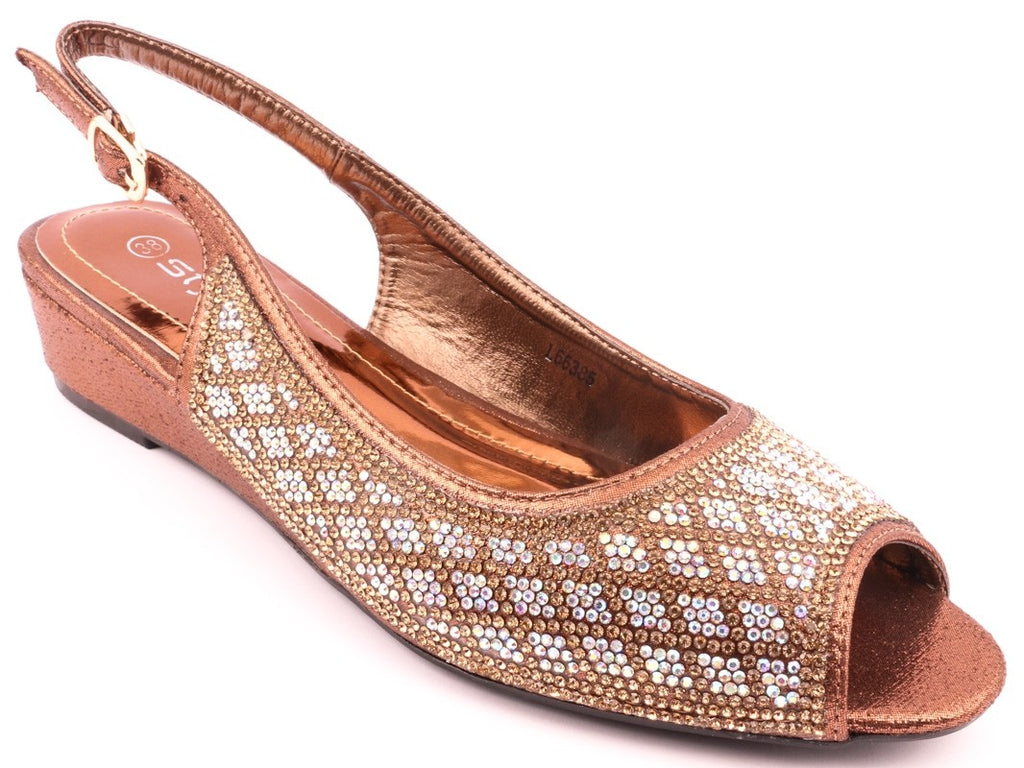 69a378a6c725d Stylo Bridal Collection-18 BROWN FANCY SANDALS