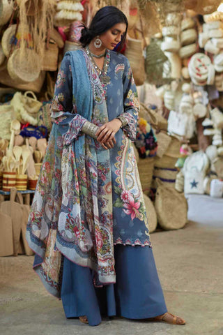 Zara Shahjahan Lawn Collection'19 SKU : LEHER-A