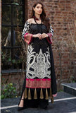 Motifz 2450-BLACK-ELEGANCE EMBROIDERED LAWN UNSTITCHED