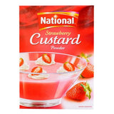 NATIONAL STRAWBERRY CUSTARD 120GM