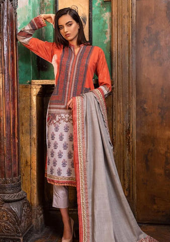 Sobia Nazir Winter Collection'19 PRODUCT CODE: W19-5A